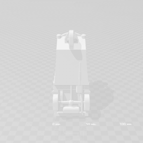 2019-03-06_004335.png Download STL file TUK TUK 3 WHEEL CAR THAILAND No.1 • 3D printable model, Tum