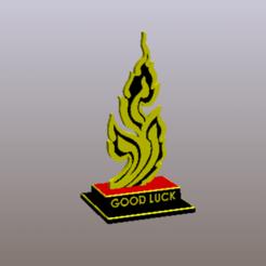 STL file Good Luck ! , Tum