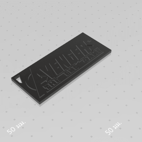 2019-08-03_124316.png Download free STL file KEYCHAIN AVENGERS SYMBOL No.2 (THE END GAME) • 3D printer model, Tum