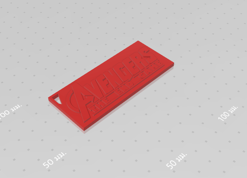 2019-08-03_124432.png Download free STL file KEYCHAIN AVENGERS SYMBOL No.2 (THE END GAME) • 3D printer model, Tum