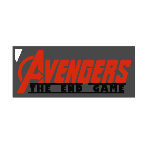 2019-07-27_171041.png Download free STL file KEYCHAIN AVENGERS SYMBOL No.2 (THE END GAME) • 3D printer model, Tum