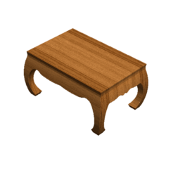 Download 3D printer designs Vintage Table Thai Style, Tum