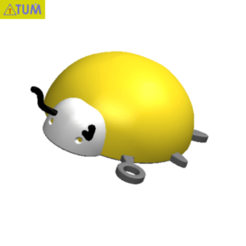 Télécharger fichier STL gratuit KEYCHAIN Lady Bird n°1, Tum