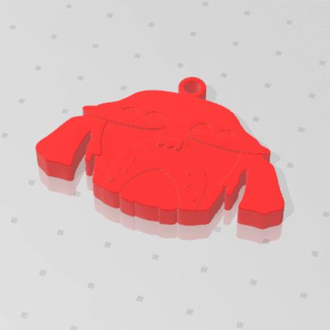 2019-01-13_223928.png Download free STL file KEYCHAIN Mr. Dog  • 3D printable model, Tum