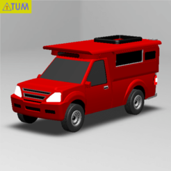 "Download 3D printer model ""Red Car"" in Chiang Mai, Thailand, Tum"