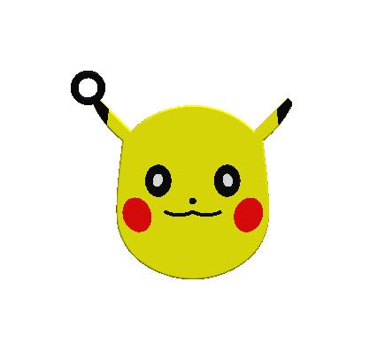 2018-10-05_165402.png Download free STL file KEYCHAIN Pokemon • Design to 3D print, Tum