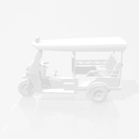 2019-03-05_000145.png Download STL file TUK TUK 3 WHEEL CAR THAILAND No.1 • 3D printable model, Tum
