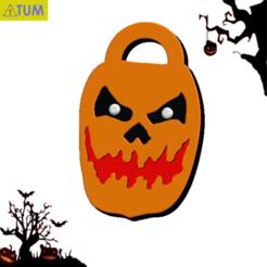 2020-10-27_204240.png Download free STL file Jack O'Lantern • 3D printer template, Tum