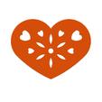 Télécharger fichier impression 3D gratuit Symbole de la plaque de coeur n°7, Tum