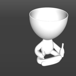 Brindis.jpg Download STL file Robert Planter Christmas Toast • Design to 3D print, latienditadebudin