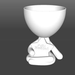 Feliz Navidad.jpg Download STL file Robert Planter Christmas Star • 3D printer object, latienditadebudin