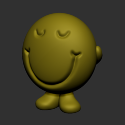 Free STL files Smiley with heart, vladek9921