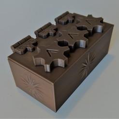 Download free 3D printing templates Puzzle box remix, davidthibault