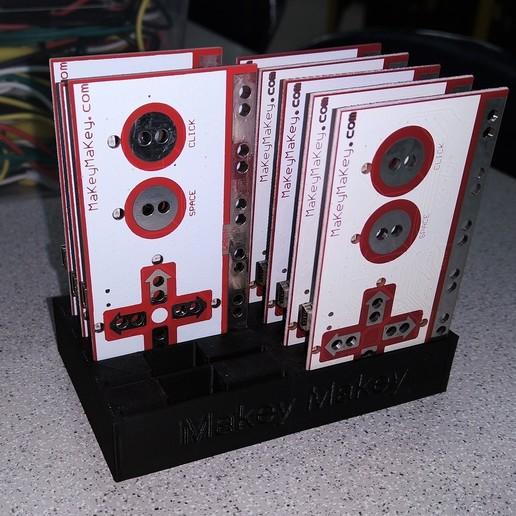 Download free STL file MakeyMakey Holder (old design) • 3D printing model, davidthibault