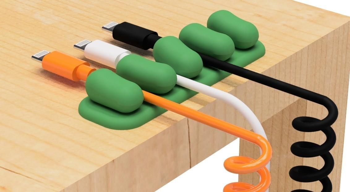 2.jpg Télécharger fichier STL gratuit Support de câble USB (série mame) • Plan à imprimer en 3D, EIKICHI