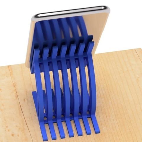 33.jpg Télécharger fichier STL gratuit Support pour téléphone portable-2 • Objet pour imprimante 3D, EIKICHI