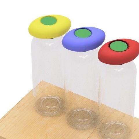 Free 3D printer files Pet bottle opener-3, EIKICHI