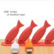 Download free STL USB holder of Goldfish type, EIKICHI