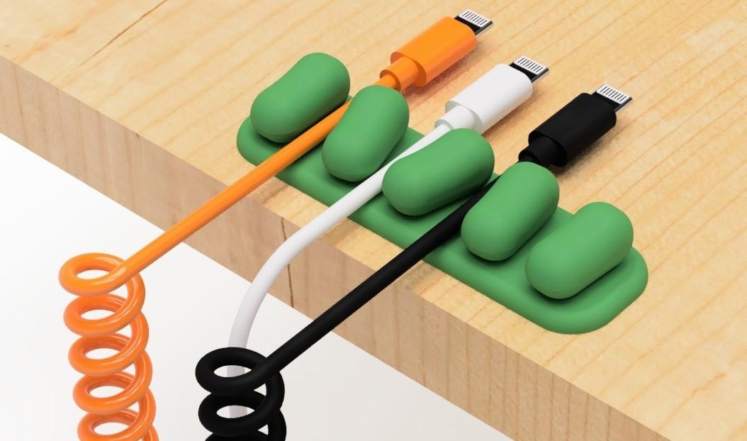 3.jpg Télécharger fichier STL gratuit Support de câble USB (série mame) • Plan à imprimer en 3D, EIKICHI