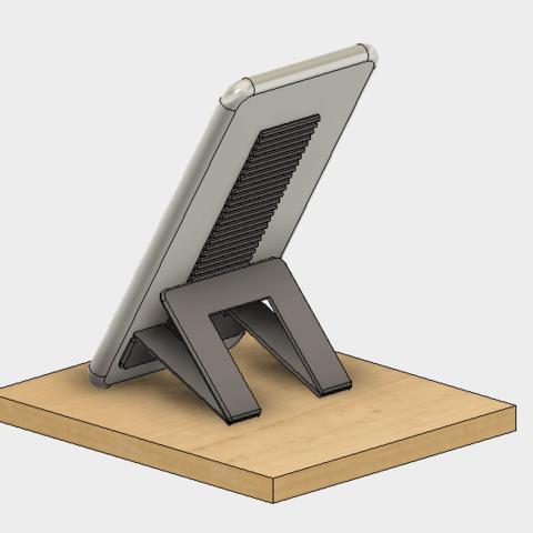 60-2.png Télécharger fichier STL gratuit Support pour téléphone portable (type Paste) • Objet imprimable en 3D, EIKICHI