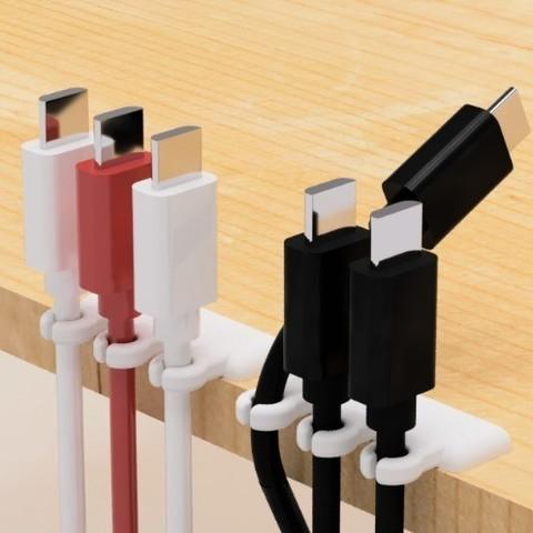 Télécharger fichier 3D gratuit Porte-câble USB-1, EIKICHI
