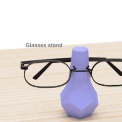 Impresiones 3D gratis Las gafas están de pie, EIKICHI