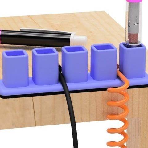 Télécharger fichier impression 3D gratuit Porte-câble USB (type étui à crayons), EIKICHI