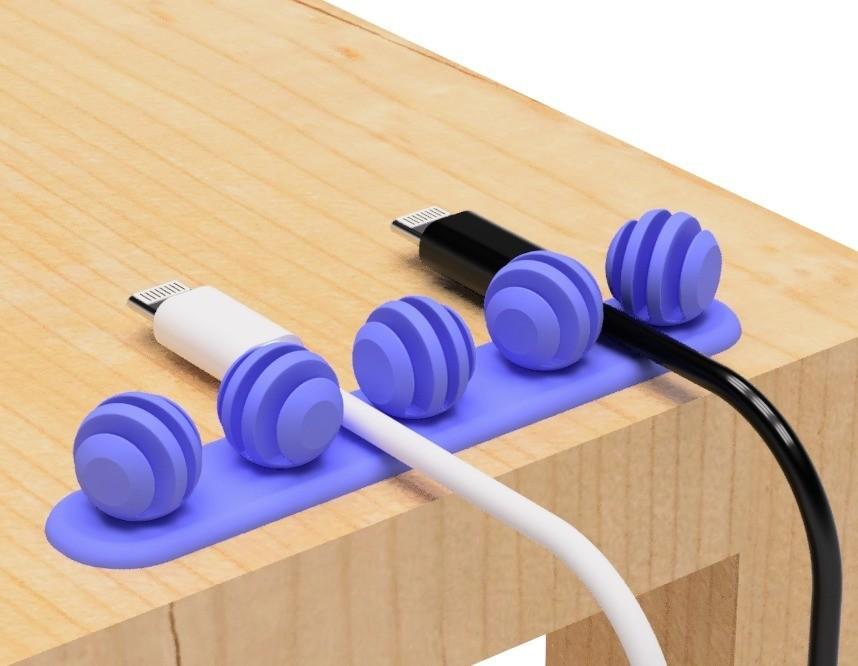 1.jpg Télécharger fichier STL gratuit Porte-câble USB (type cuillère à miel) • Design pour impression 3D, EIKICHI