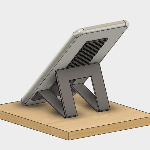 45-2.png Télécharger fichier STL gratuit Support pour téléphone portable (type Paste) • Objet imprimable en 3D, EIKICHI
