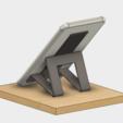 Free 3D printer files Cellphone stand (Paste type), EIKICHI