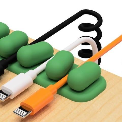 1.jpg Télécharger fichier STL gratuit Support de câble USB (série mame) • Plan à imprimer en 3D, EIKICHI