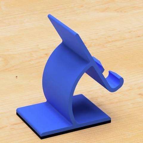 55.jpg Download free STL file Cell phone stand-1 • 3D printable object, EIKICHI