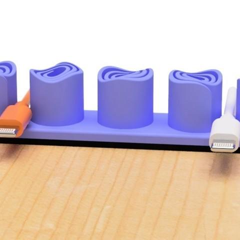 f3ccdd27d2000e3f9255a7e3e2c48800_display_large.jpg Download free STL file USB holder (Vortex) • 3D print design, EIKICHI
