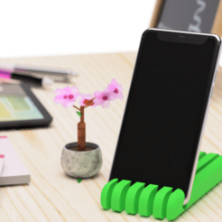 Download free STL file Cellphone stand 2 • Template to 3D print, EIKICHI