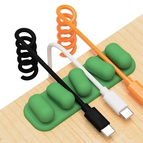4.jpg Télécharger fichier STL gratuit Support de câble USB (série mame) • Plan à imprimer en 3D, EIKICHI