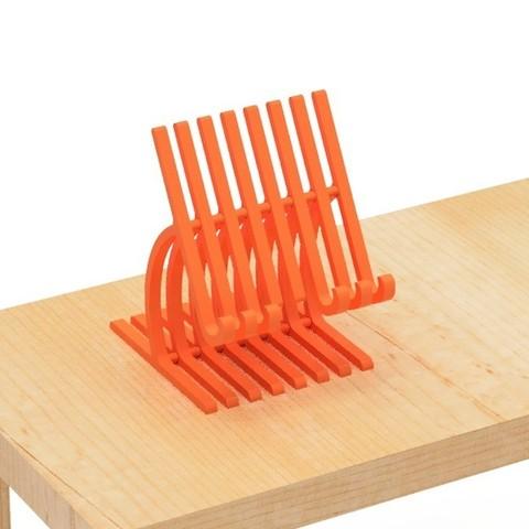4.jpg Download free STL file Cell phone stand-4 • 3D printer model, EIKICHI