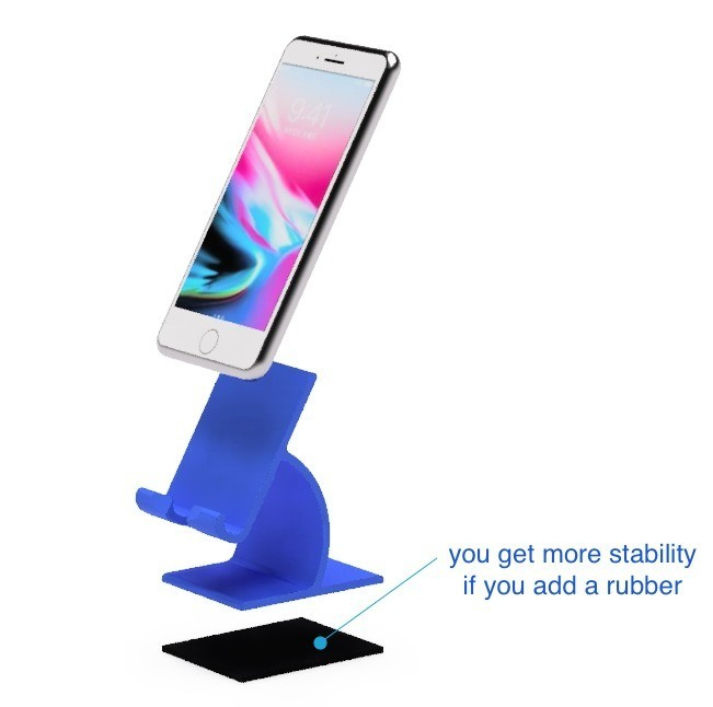 44.jpg Download free STL file Cell phone stand-1 • 3D printable object, EIKICHI