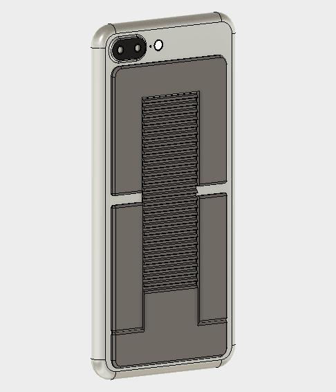 body.png Télécharger fichier STL gratuit Support pour téléphone portable (type Paste) • Objet imprimable en 3D, EIKICHI