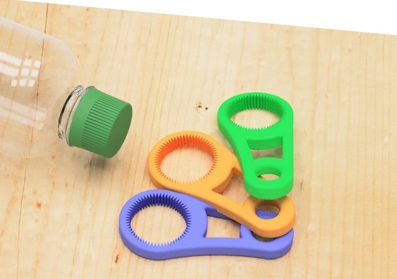 f3ccdd27d2000e3f9255a7e3e2c48800_display_large.jpg Download free STL file Pet bottle opener-1 • Template to 3D print, EIKICHI