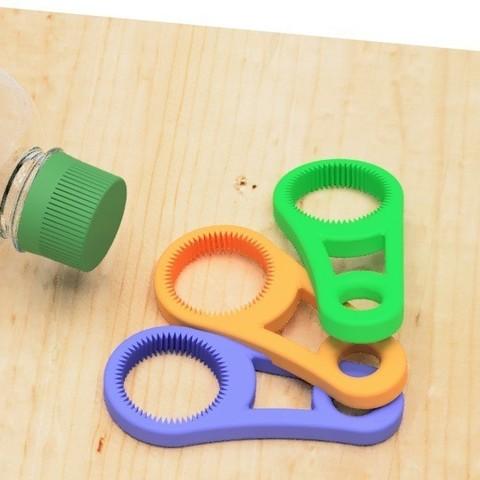 Download free 3D printer files Pet bottle opener-1, EIKICHI