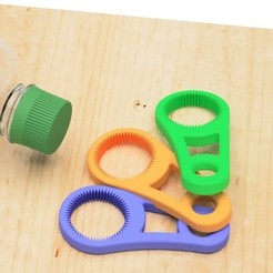 Download free 3D printer files Pet bottle opener-1, EIKICHI