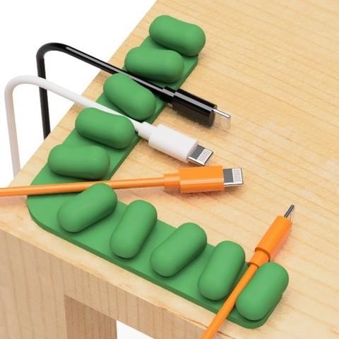 Télécharger plan imprimante 3D gatuit Support de câble USB de mame, EIKICHI