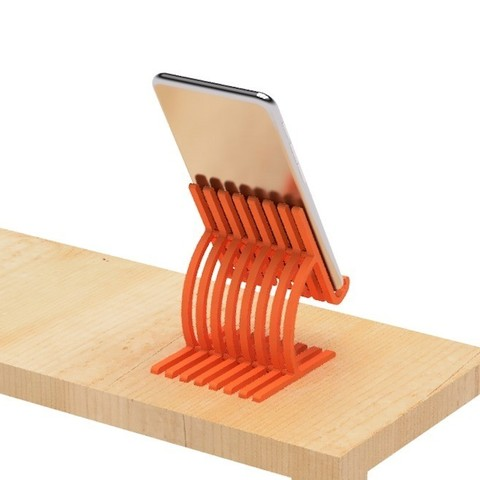 3.jpg Download free STL file Cell phone stand-4 • 3D printer model, EIKICHI