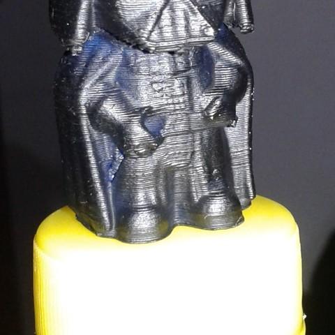 Free 3D printer designs Mini Vader, sskio