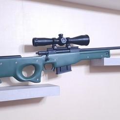 Descargar diseños 3D Fusil de francotirador AWP ( Prop Gun - no funciona ), MadeAll