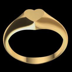 Download free 3D printing files Ring heart, GENNADI3313