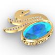 Screenshot_3.png Download free STL file Swan JEWEL • 3D printer object, GENNADI3313
