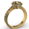 Screenshot_8.png Download free STL file Beautifull Ring Pear • 3D printable template, GENNADI3313