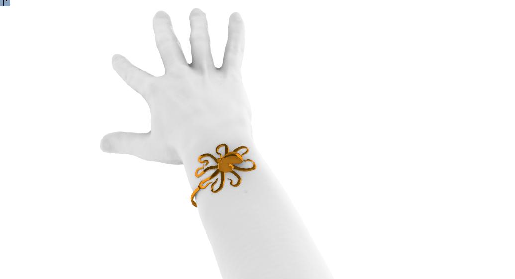 Screenshot_7.png Télécharger fichier STL gratuit Bracelet de pieuvre • Plan à imprimer en 3D, GENNADI3313
