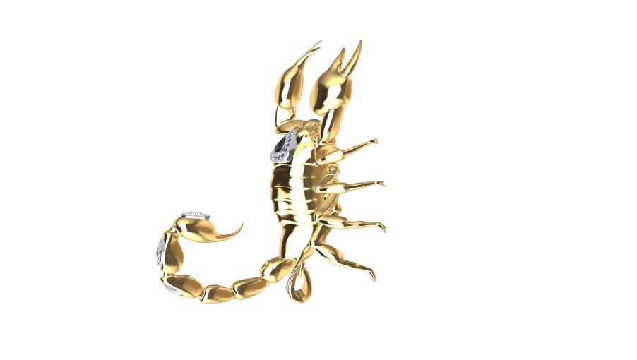 Screenshot_7.png Download free STL file Said Scorpion charm • 3D printing object, GENNADI3313